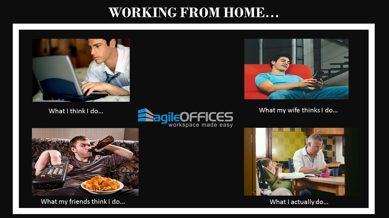 Working From Home Meme